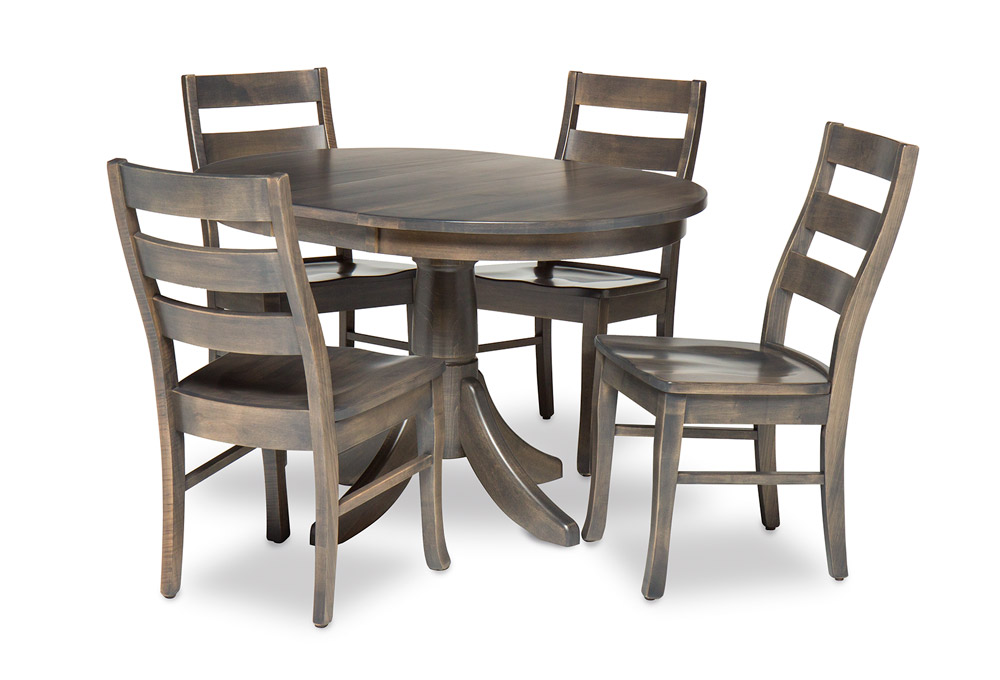 Edgar Round Extension Dining Table With, Round Dining Table Set With Extensions