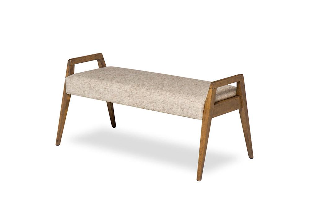midcentury modern style bench