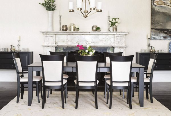 Concord expandable dining table