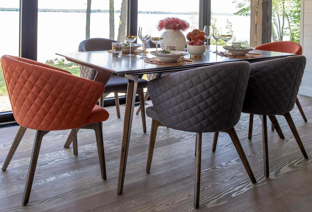 Noah Wood Dining Table Set Casual