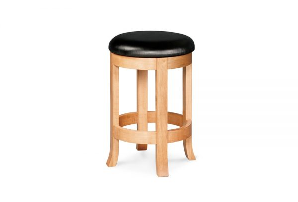Winston backless swivel barstool