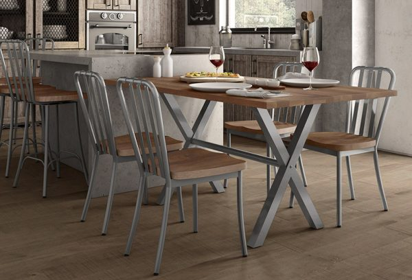 aaron counter height extendable table and chairs