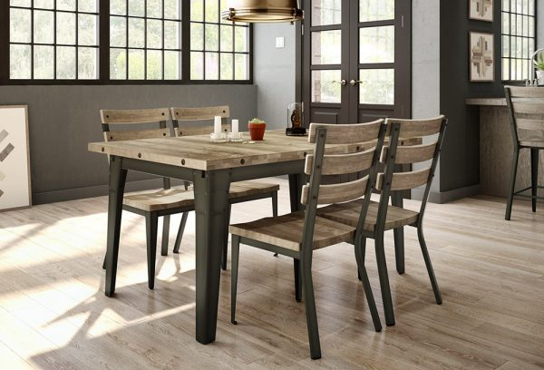 Carter solid wood dining table
