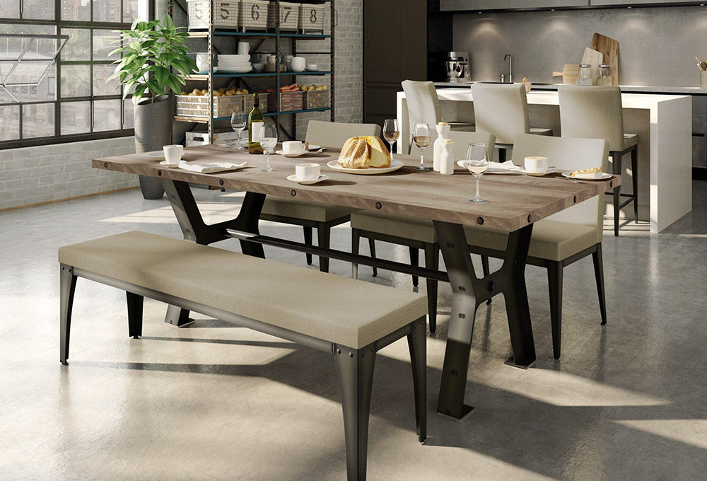 Samuel extension dining table