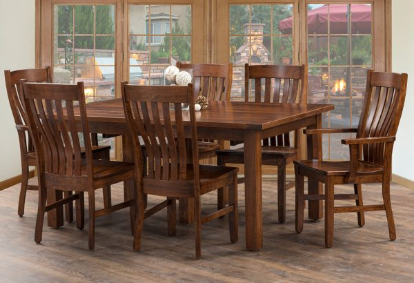 Brooks Extension Wood Table Set